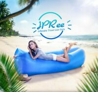 IPRee Air Inflatable 2 Layer Lazy Sofa 210D Oxford Travel Lay Bed Couch Lounger