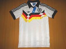 NEW DEUTSCHLAND GERMANY RETRO 1988 90 shirt trikot ADIDAS FOOTBALL S