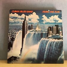 CLIMAX BLUES BAND Flying The Flag 1980 USA Vinyl LP  EXCELLENT CONDITION F