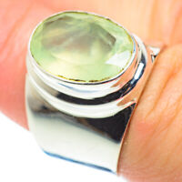 Prehnite 925 Sterling Silver Ring Size 7 Ana Co Jewelry R52498F