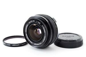 [EXC+++] Olympus OM-System G.ZUIKO Auto-W 35mm F2.8 Lens From JAPAN 744395