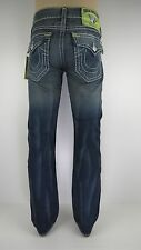 NWT True Religion Ricky Super T Brights mens Jean, Deadwood, Size 28,Retail $341