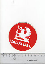 Decal/Sticker - Vauxhall Griffin Round