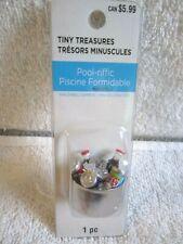Celebrate It Tiny Treasures Pool-riffic Soda Cola in Ice Bucket Miniature - Nip