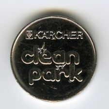 # GERMANY ☆ CAR WASH TOKEN • KÄRCHER • CLEAN PARK • NEU WULMSTORF ☆ JETON ☆C3822
