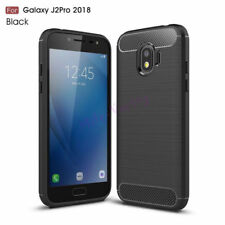 For Samsung Galaxy Grand Prime Pro Carbon Fiber Brushed Soft Rubber Case Cover