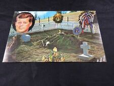 Vintage John F. Kennedy Post Card Grave of J.F.K. Unposted Lusterchrome