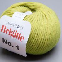 Lana Grossa Brigitte No. 1 - 006 /  50g Wolle (13.90 EUR pro 100 g)