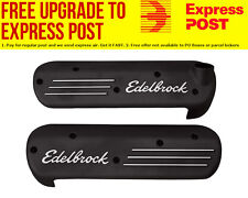 Edelbrock Coil Covers for LS Series Engines With Black Powder Coat Finish