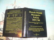 Mortensen: Dansk-Norsk  Myntpris-Arbok 1997-98 Auctions results Scandinavian coi