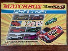 Matchbox Lesney Superfast Gift Set G-3 Racing Specials 1970 OVP in Box RAR