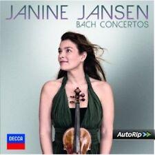 Janine/Ortega Quero, Ramon/+ Jansen-Bach Violinkonzerte CD NUOVO