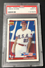 1991 Topps Traded Jason Giambi PSA 9