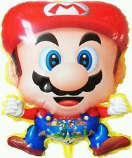 SUPER MARIO BROS Sega Nintendo Game Foil Balloon Shower Birthday Party Supplies