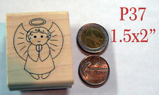 P37 little angel rubber stamp