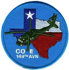 US Army Aviation Patch: E Company 149th Aviation Texas National Guard UH-60