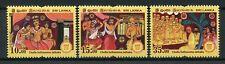 Sri Lanka 2018 MNH Vesak Buddha Day Chulla Suthasoma Jathaka 3v Set Stamps