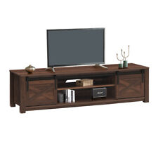 Sliding Barn Door TV Stand for TV's up to 65
