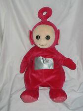 Po Rojo Teletubby: Teletubbies suave felpa Pijama titular Juguete