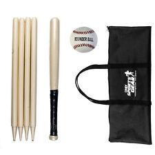 Osg Kids Garden Game Starter Kit Mini Rounders Set Bat BaseBall Post & Carry Bag