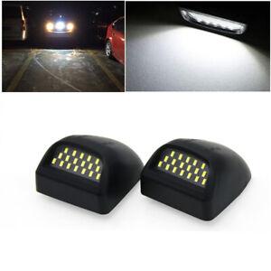 For Chevy Silverado Suburban 1500 2500 GMC Sierra 2000-06 LED License Plate Lamp
