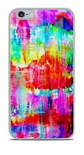 Watercolor Rainbow Art Case Cover For iPhone 6 Plus 6+ New  Beautiful