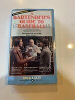 Bartender's Guide to Baseball, sports trivia paperback 1981