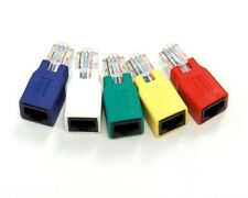 Bytecc CROSSOVER-5 CAT6 Gigabit Crossover Adapter Set of 5 Colored