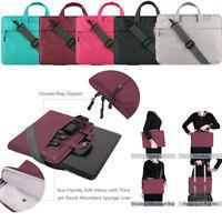 Laptop Sleeve Shoulder Carry Bag Case For 11.6 13.3 14 15.4 15.6 Macbook HP Dell
