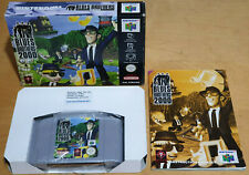 BLUES BROTHERS 2000 for NINTENDO 64 N64 PAL COMPLETE & IN VGC RARE