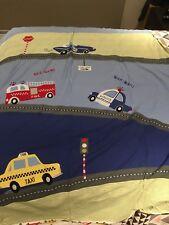 Adairs Kids Complete Set Suit King Single Bed. Transport Theme. Car, Firetruck