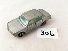 RARE VINTAGE MAJORETTE FRANCE # 256 BMW 733 SALOON SILVER DIECAST TOY CAR