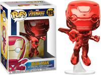 Avengers 3: Infinity War Iron Man Flying Chrome Red  Funko Pop Vinyl