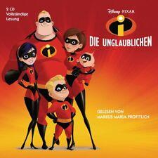 DIE UNGLAUBLICHEN - HÖRBUCH ZUM FILM(1)  2 CD NEU