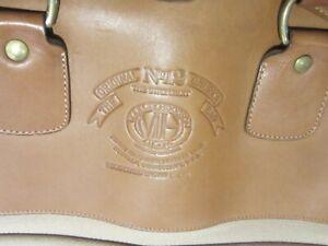 Vintage Ghurka No 12 Marley Hodgson Garment Bag, Leather and Canvas + Shoulder