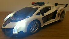 POLICE CAR LAMBORGHINI VENENO GRAVITY SENSOR Remote Control Car FAST SPEED