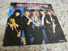 Europe Carrie love chaser 45 giri usato made in Holland 1986