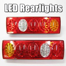 Led Rear Tail Lights Truck Lorry Trailer Tipper Chassis 24V x 2