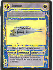 Star Wars CCG Tournament FOIL Snowspeeder