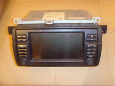 BMW 3 SERIES E46 WIDESCREEN 16:9  PROFESSIONAL NAVIGATION HEAD UNIT 65526911006
