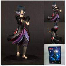 """Anime Naruto Shipuden Uchiha Sasuke 17cm 6.7"""" Figure Figurine New in Box"""