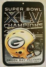 Green Bay Packers Super Bowl XLV Champions Sign fea5dda07