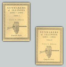 Gunmakers of Illinois Set, Books I and II /flintlock