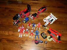 Bandai Power Rangers Figures Vehicles Blasters Vintage Lot
