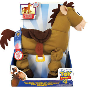 Disney Pixar Toy Story 4 Giddy-Up Bullseye Trotting & Talking Horse Toy