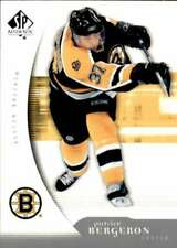 2005-06 SP Authentic #11 PATRICE BERGERON  Bruins
