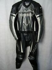 Men's Probiker 2 Piece Leather Motorcycle Suit 42R W36 L30