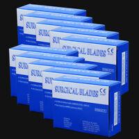 Surgical Scalpel Blades Instruments Scalpels Dental 10# 11# 22# 15# Carbon steel