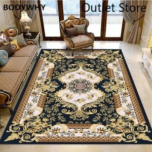 Europe Nodric Carpets Room Carpet Flower Sofa Rug Floor Mat Palace Soft Rugs