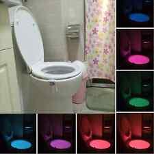 8Farben LED Toilettendeckel WCSitz Klobrille Toilettensitz Klodeckel licht Lampe